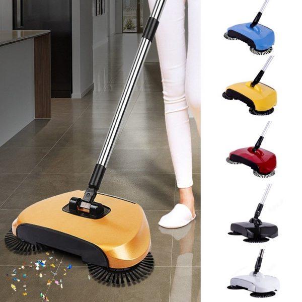 Automatic Hand Push Sweeper Broom