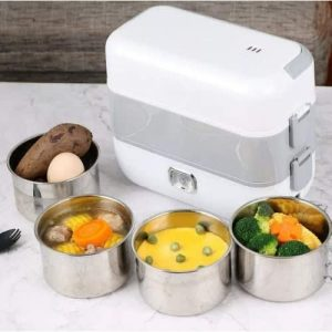 Double Layer Electric Lunch Box