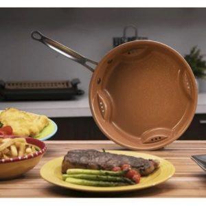 Non Stick Steel Air Fry Pan